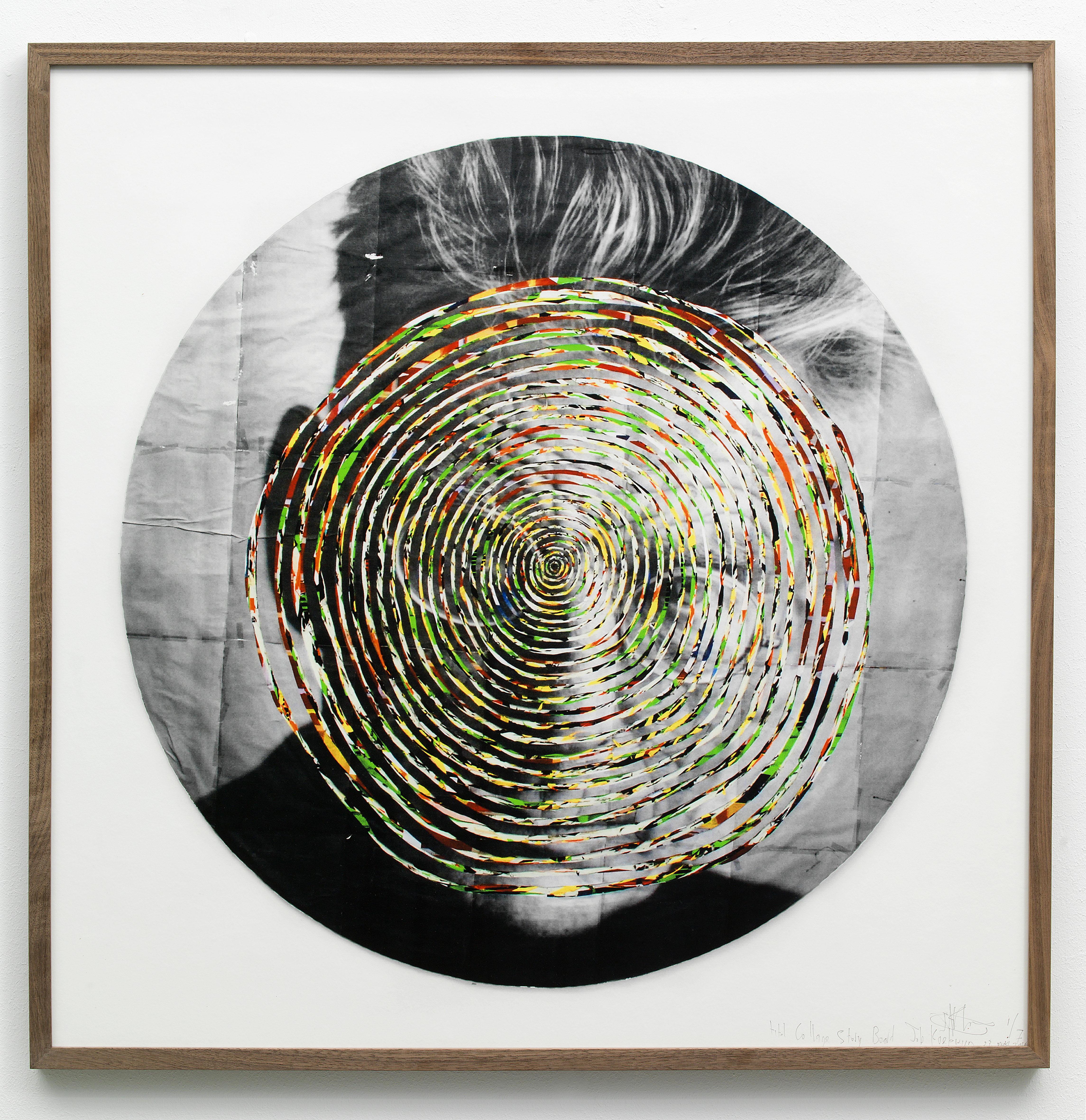 Fons Welters. Job Koelewijn, Collage_  Storyboard [Beckett], 2012, c-print, framed, 80 x 80 cm
