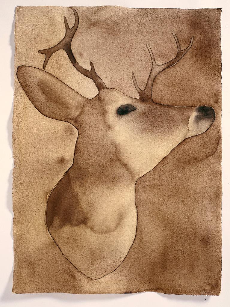"""Deer, Sag Harbor,"""" 1999."""