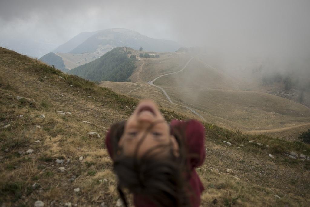 C'est dans les Alpes, le 12 aout 2012 © Jeromine Derigny