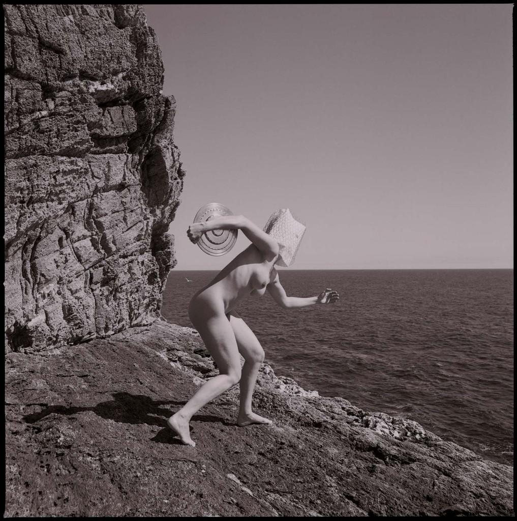 L'une olympique et discobole féminine © François Delebecque