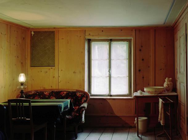 Friedrich Nietzsche's House, Sils-Maria, Switzerland. 2004. Photograph Patrick Lakey