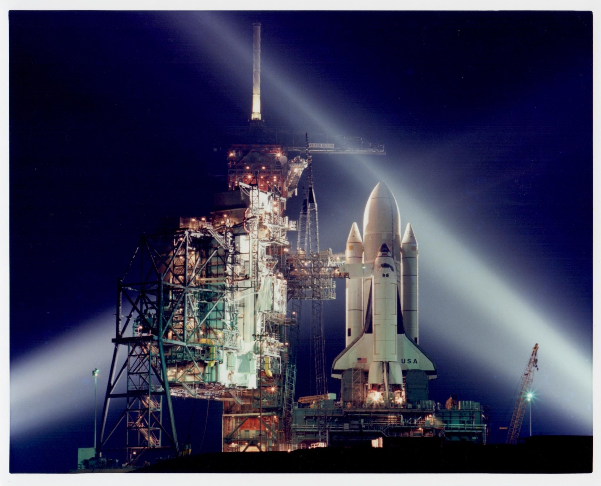Space Shuttle STS-1 at Kennedy Space Center, Shuttle, March 1981