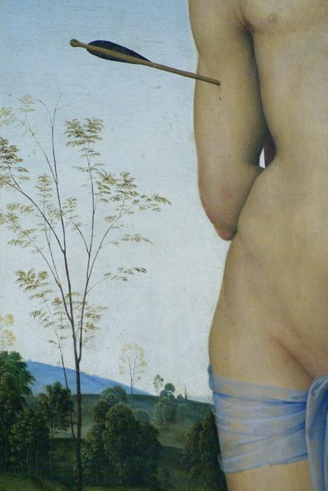San Sebastián (detail), Perugino
