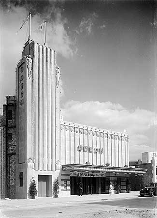 Odeon Cinema, Cherrydown Avenue, Chingford Mount, Greater London Authority, 9 September 1935.