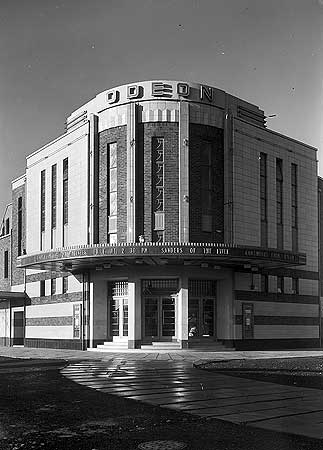 Odeon Cinema, Crescent West, Cleveleys, Blackpool, 1934.