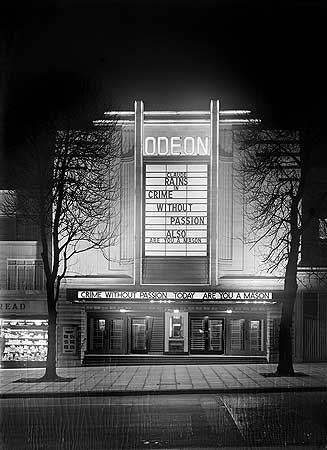 Odeon Cinema, Haverstock Hill, Hampstead, Greater London Authority, 1934