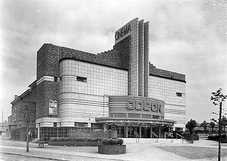 Odeon Cinema, Kettlehouse, Kingstanding, Birmingham, July 1935.