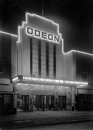 Odeon Cinema, London Road, Bognor Regis, West Sussex, 1930-9