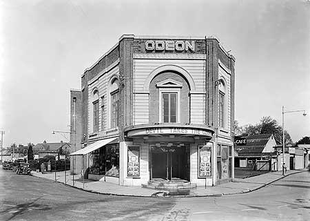 Odeon Cinema, North Town, Taunton, Somerset, 1937