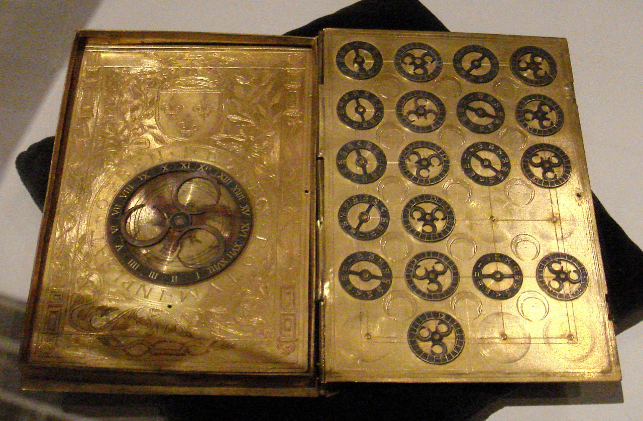 16th century French encryption book from the court of Henri II
