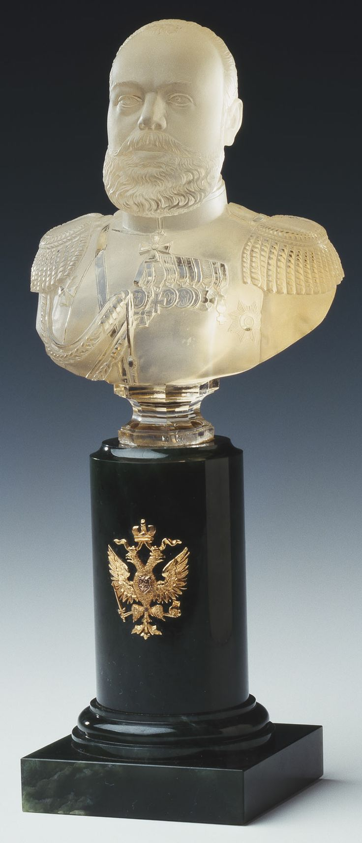 Bust of Tsar Alexander III made by Faberge, c. 1900