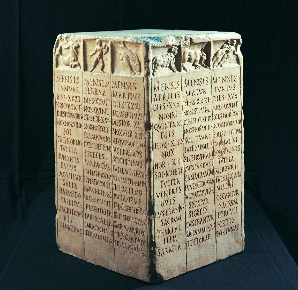 Roman Farmer's calendar