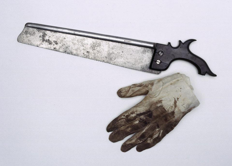 Saw used to amputate the Earl of Uxbridge's leg at Waterloo, 1815