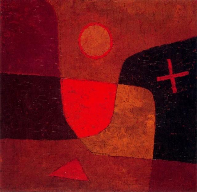 Paul Klee - Angel in the Making